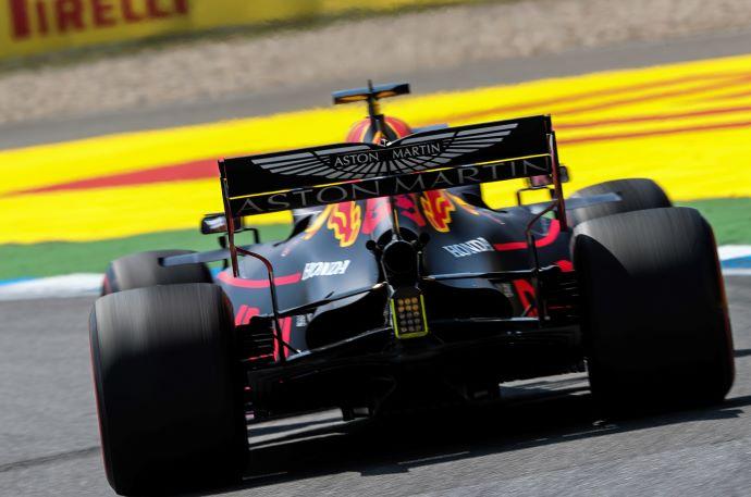 Viernes en Alemania - Red Bull: Gasly al muro y el equipo sobrelleva bien el calor extremo