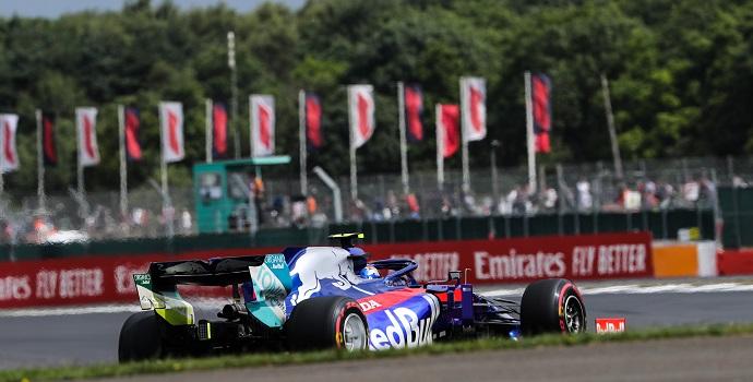 Viernes en Gran Bretaña - Toro Rosso:un paso adelante tras dos malas carreras