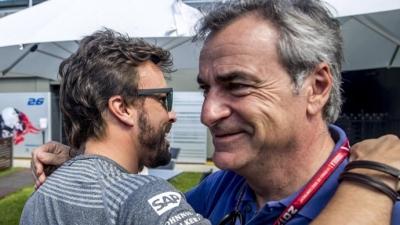 """Carlos Sainz: """"Sería bonito correr con Fernando"""""""