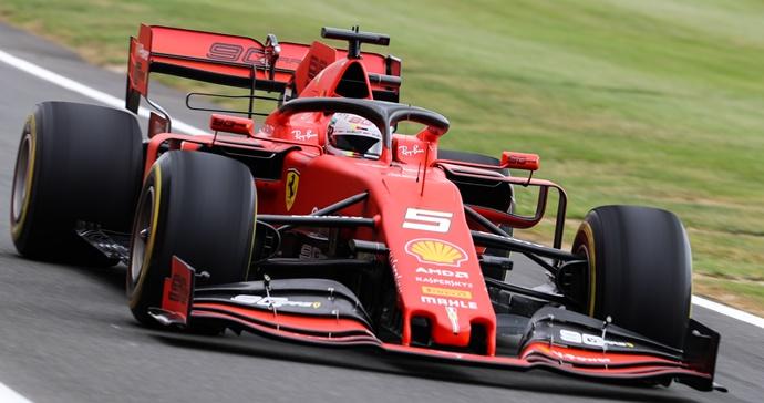 Domingo en Gran Bretaña – Ferrari: Leclerc en el podio, Vettel con problemas