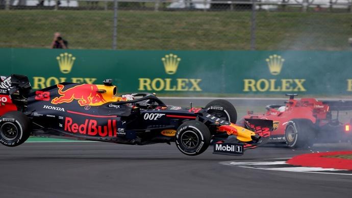 Error completo de Vettel, pero ¿Verstappen sigue sin dejar el espacio suficiente?