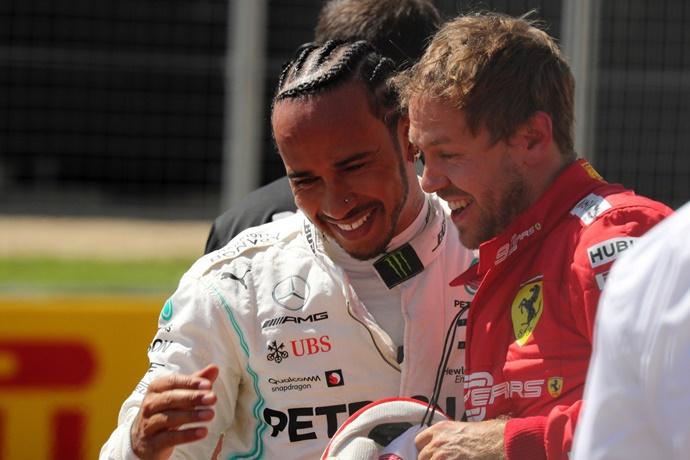 """Hamilton, sobre Vettel: """"Se recuperará y se redimirá a sí mismo si siente que necesita hacerlo"""""""