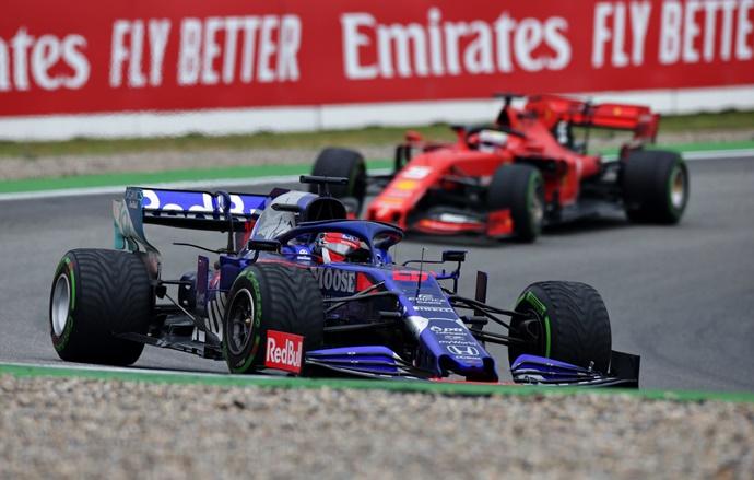 Toro Rosso, un podio que sabe a triunfo