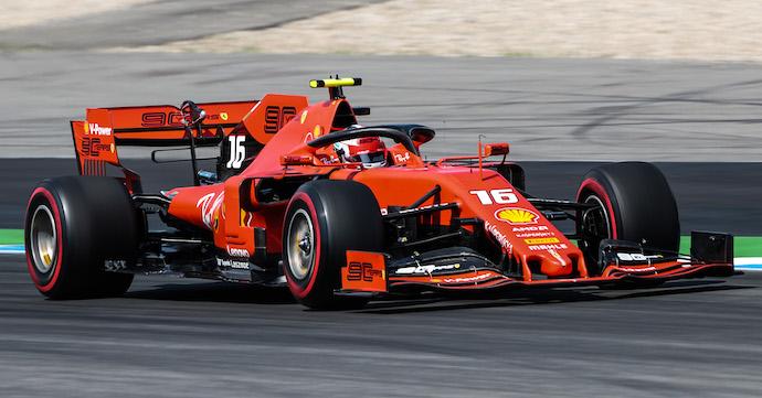 Libres 3 en Alemania: Leclerc no da tregua, Mercedes no llega