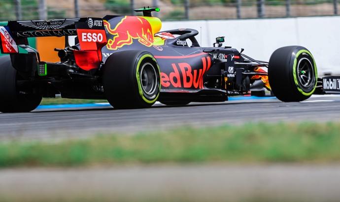 Sábado en Alemania - Red Bull: La mejor Qualy para Honda desde la temporada 2006