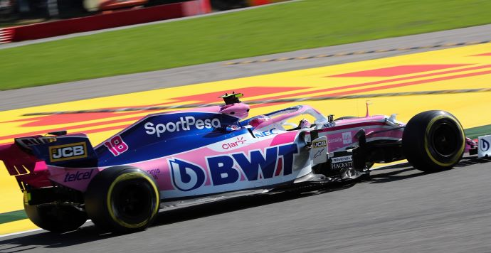 Viernes en Bélgica - Racing Point avanza en rendimiento, pero enfrenta consecuencias con actualizaciones en Spa