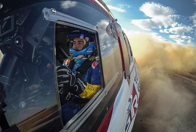 Alonso probador de Toyota sin confirmar su participación en el Dakar 2020