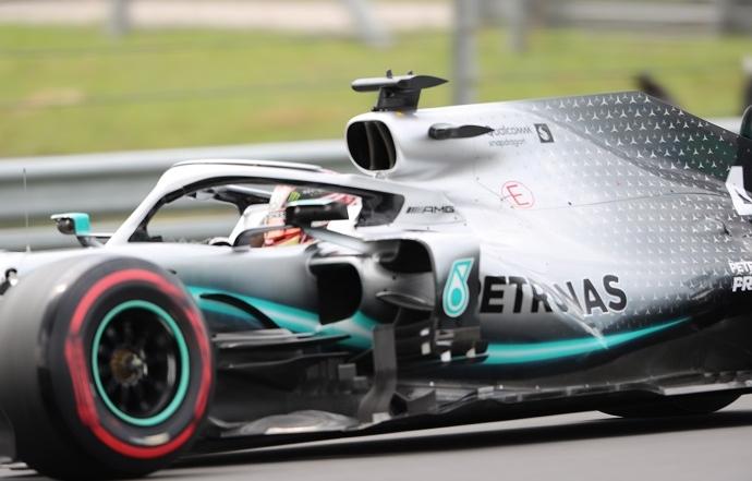 Domingo en Hungría- Mercedes-: un golpe de autoridad de los campeones