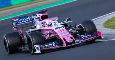 Domingo en Hungría - Racing Point y Checo rosan la zona de puntos y salen satisfechos del Hungaroring