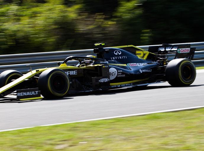 Domingo en Hungría - Renault: discretos, de nuevo sin puntuar