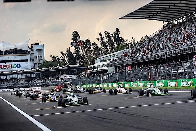La temporada 2018-2019 de la FIA Fórmula 4 Nacam se prepara para la final en la Ciudad de México