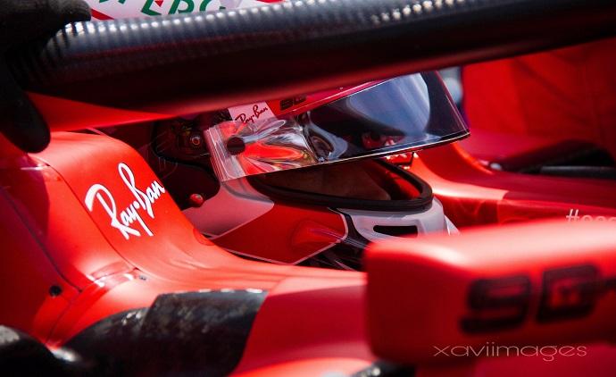 Leclerc admite que debe ser menos brusco con los neumáticos