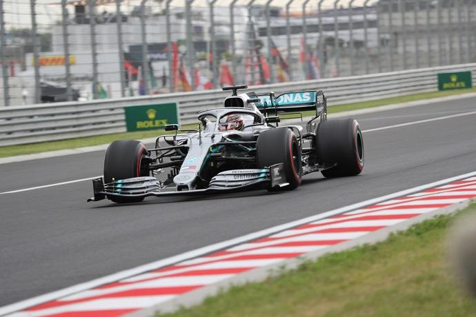 Libres 3 en Hungría: Hamilton primero con nuevo récord de pista