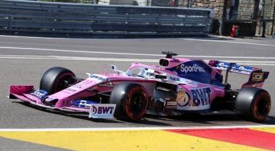 Sábado en Bélgica – Racing Point se mete a la Q3 con especificación anterior en manos de Checo y saldrá 7º.