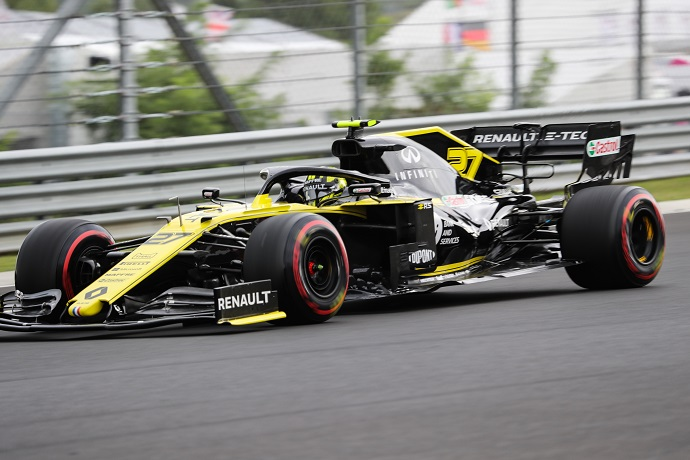 Sábado en Hungría - Renault: nuevo fiasco ambos fuera de los puntos