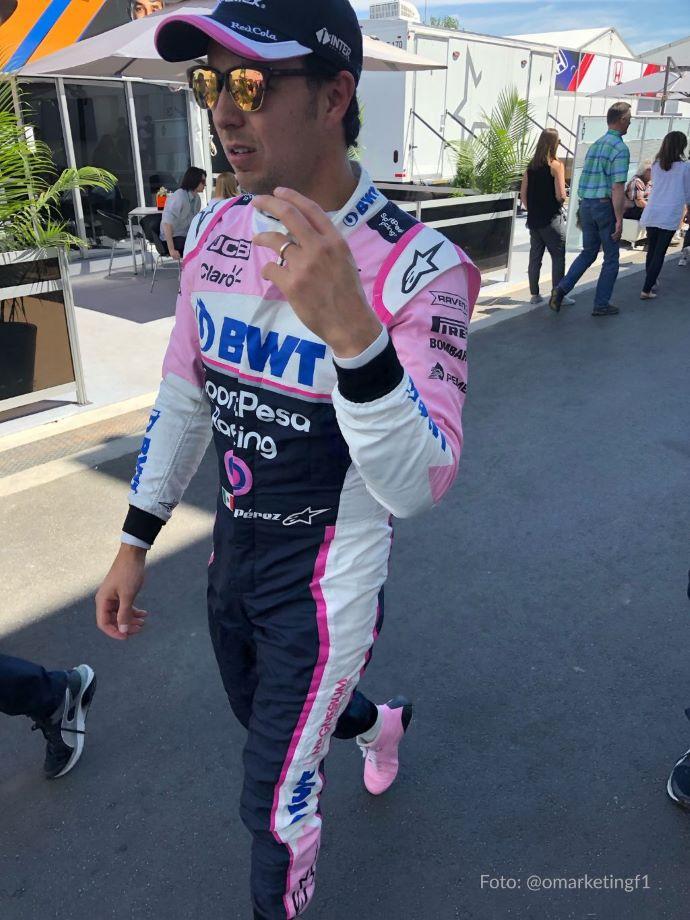"""Sergio Pérez dice que es """"cuestión de tiempo"""" para que haya un nuevo acuerdo con Racing Point después de 2019"""