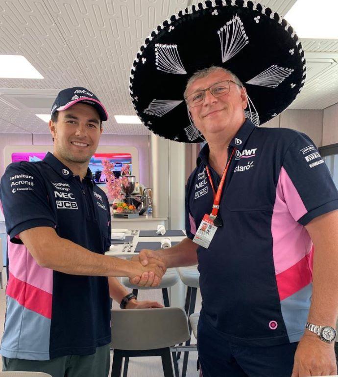 Sergio Pérez firma su permanencia en F1 y competirá con el SportPesa Racing Point F1 Team durante los próximos tres años