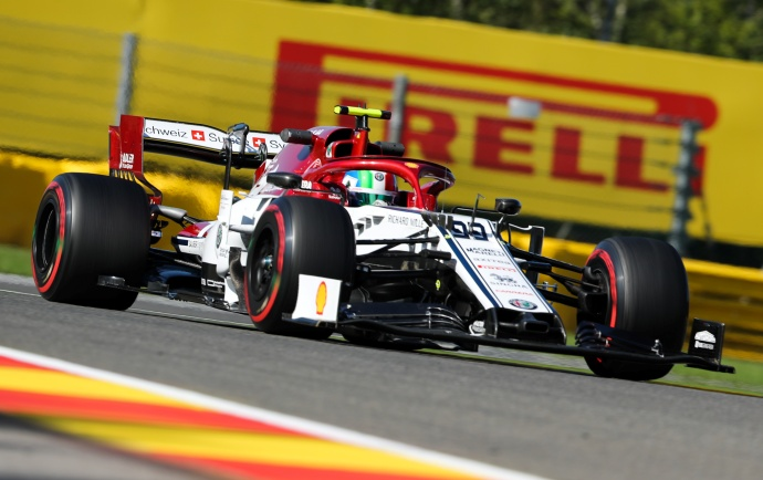 Viernes en Bélgica – Alfa Romeo: Räikkönen termina dentro del TOP10 a pesar de las molestias