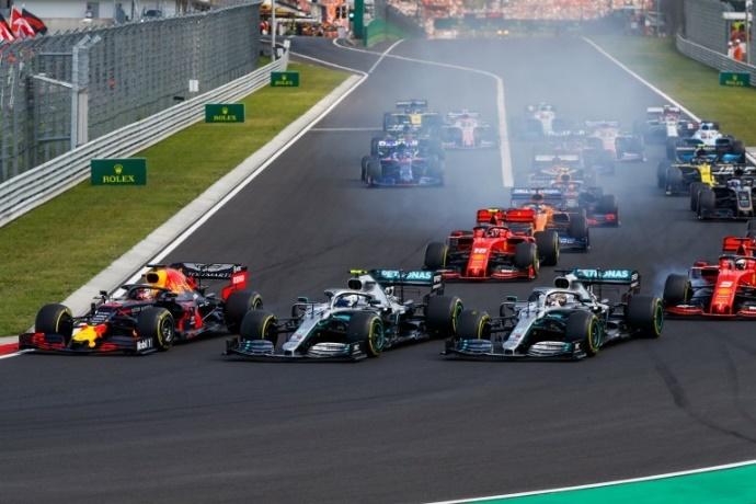 DesGRAINING a una F1 empezando las Holidays