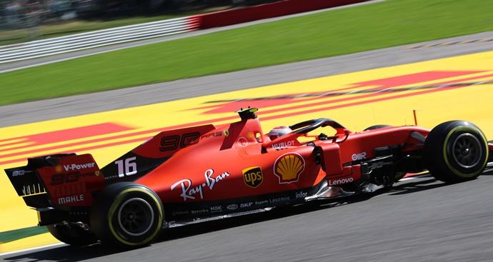 Viernes en Bélgica – Ferrari: Dominio rojo en Spa