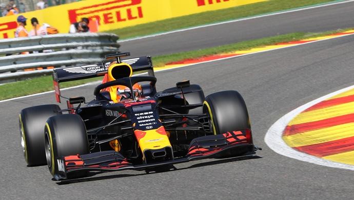 Viernes en Bélgica - Red Bull: El motor Honda está a la altura de un circuito veloz como Spa