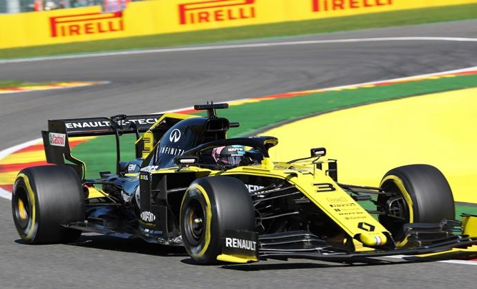 Viernes en Bélgica - Renault: Díaproductivo,pero con penalizaciónde cara al domingo