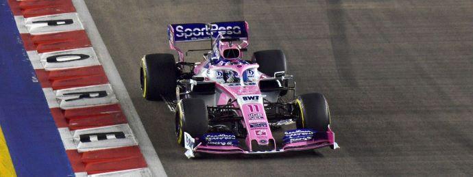 Domingo en Singapur - Racing Point y el circuito de la noche triste