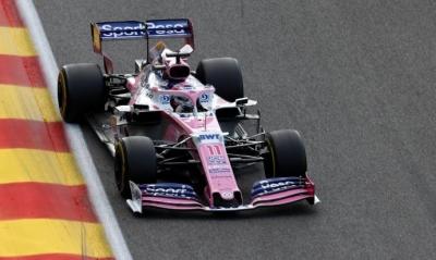 Domingo en Bélgica - Racing Point y Checo Pérez los mejores del resto en Spa