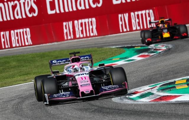 Domingo en Italia - Racing Point y Checo Pérez remontan 11 posiciones y se meten al Top 10 en Monza