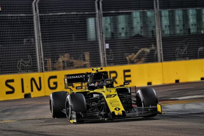 """Domingo en Singapur – Renault: Hülkenberg: """"Tuvimos suerte con el primer Safety Car"""""""