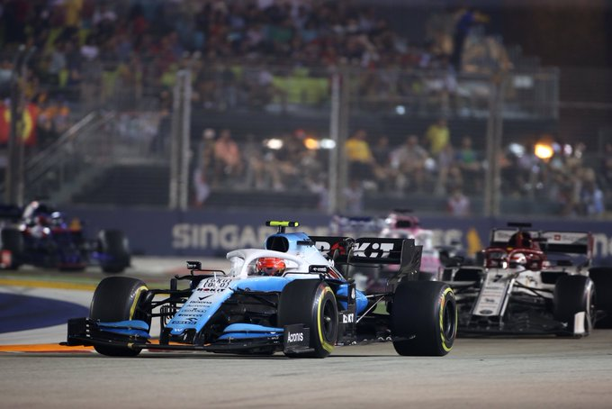 Domingo en Williams - Williams: Primer abandono de la temporada