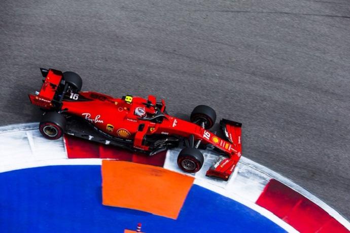 Libres en Rusia: Leclerc muy fuerte lidera la primera sesión y sólo se ve superado por Verstappen en los Libres 2