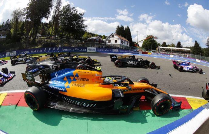 Domingo en Bélgica – McLaren: Domingo Negro