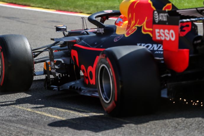 Sábado en Bélgica - Red Bull: Por debajo del objetivo fijado