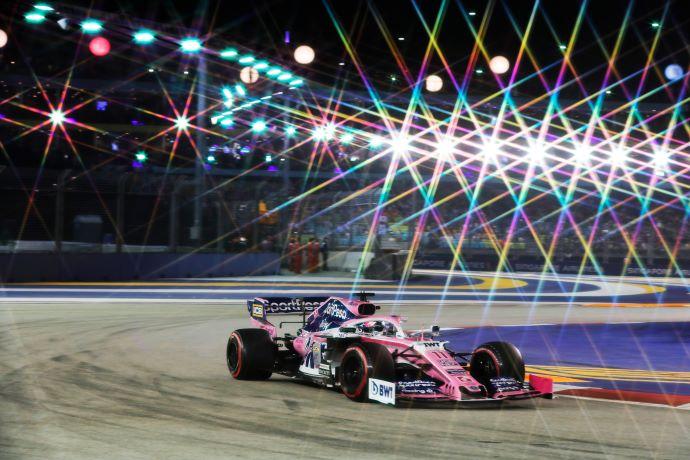 Sábado en Singapur – Racing Point pinta de rosa los muros de Marina Bay y se complica el pase a Q3