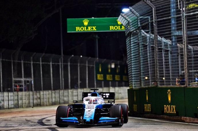 Sábado en Singapur - Williams: mala suerte en clasificación