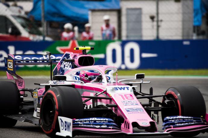 Sábado en Italia – Racing Point de rosa y gris en polémica calificación de Monza