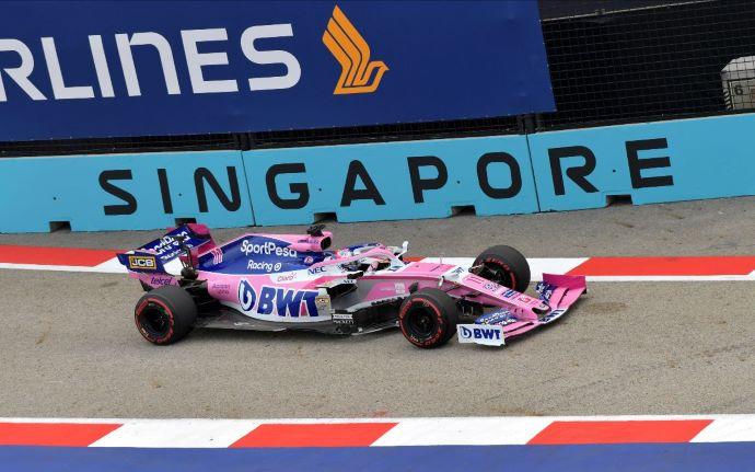 Viernes en Singapur - Racing Point complicado inicio contra 23