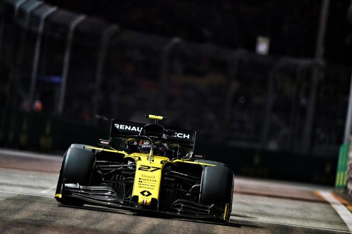 Viernes en Singapur – Renault: Hülkenberg sale con ganas a buscar sitio