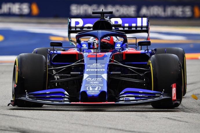 Viernes en Singapur - Toro Rosso: se muestran competitivos