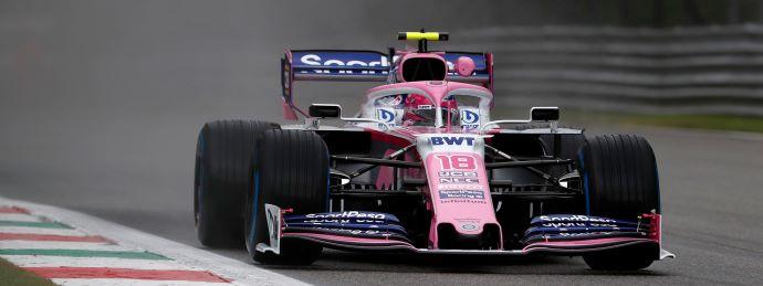 Viernes en Italia - Racing Point: Las Panteras Rosas inician complicadas en el 1er. día de ensayos en Monza