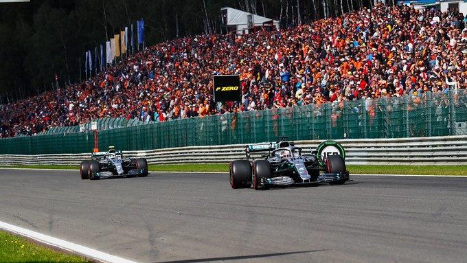 Domingo en Bélgica - Mercedes: Buen resultado al final del día