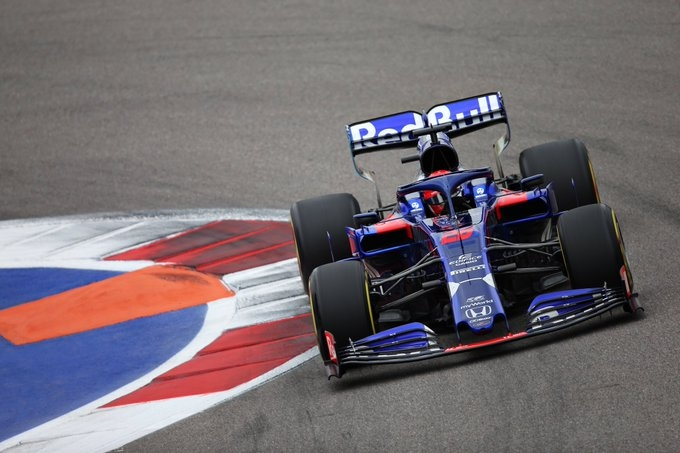 "Domingo en Rusia – Toro Rosso: ""Fuimos competitivos, pero no tanto"""