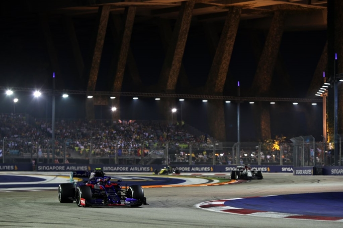 Domingo en Singapur - Toro Rosso: Agridulce fin de semana en la calles de Marina Bay