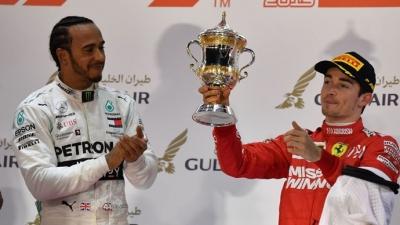 """Hamilton espera ver un gran avance de Leclerc en la F1: """"Será aún más grande y estoy ansioso por ver su crecimiento y correr junto a él"""""""