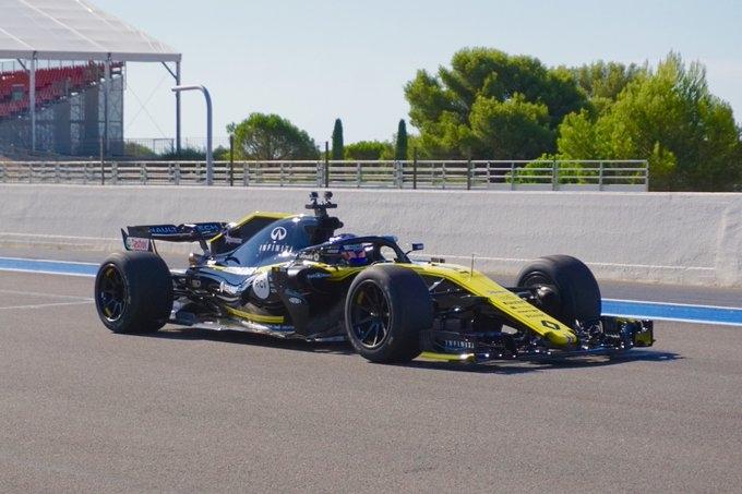Pirelli completa satisfactoriamente sus primeros tests con los neumáticos de 18 pulgadas