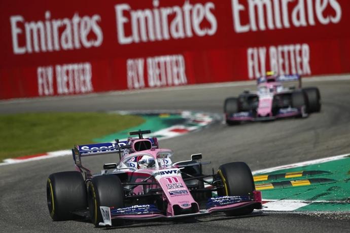 """Racing Point prepara una """"gran actualización"""" en su RP19 para Singapur y el resto de la temporada"""