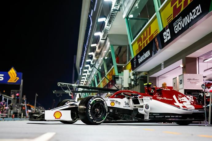 Sábado en Singapur – Alfa Romeo: se quedan en la Q2, pero positivos para la carrera más exigente de la temporada