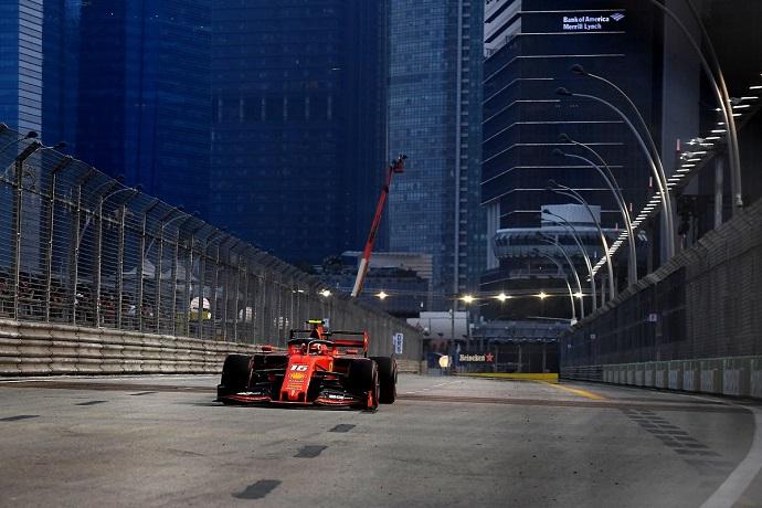 Sábado en Singapur - Ferrari: 3ª consecutiva para Leclerc