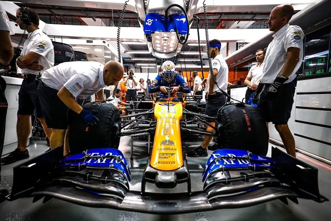 Sábado en Singapur – McLaren: Un buen sábado